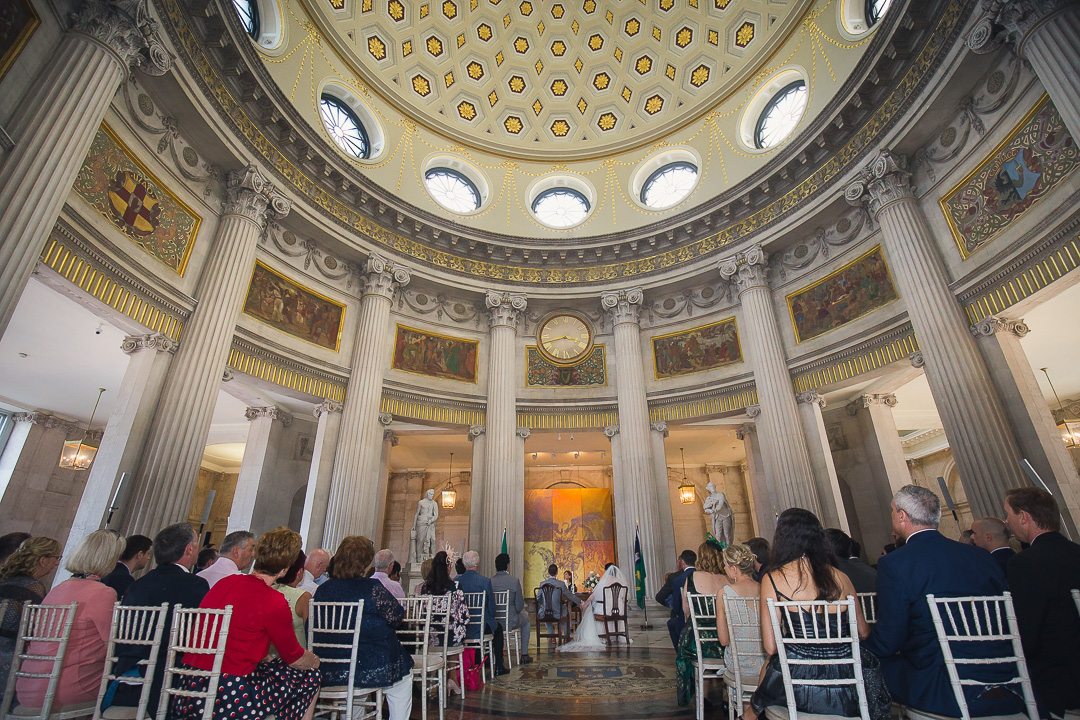 Dublin City Hall wedding. Civil Ceremony. Stargaze Photography.