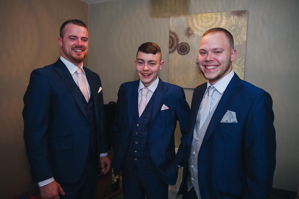 Groom Preparations Cork City Wedding