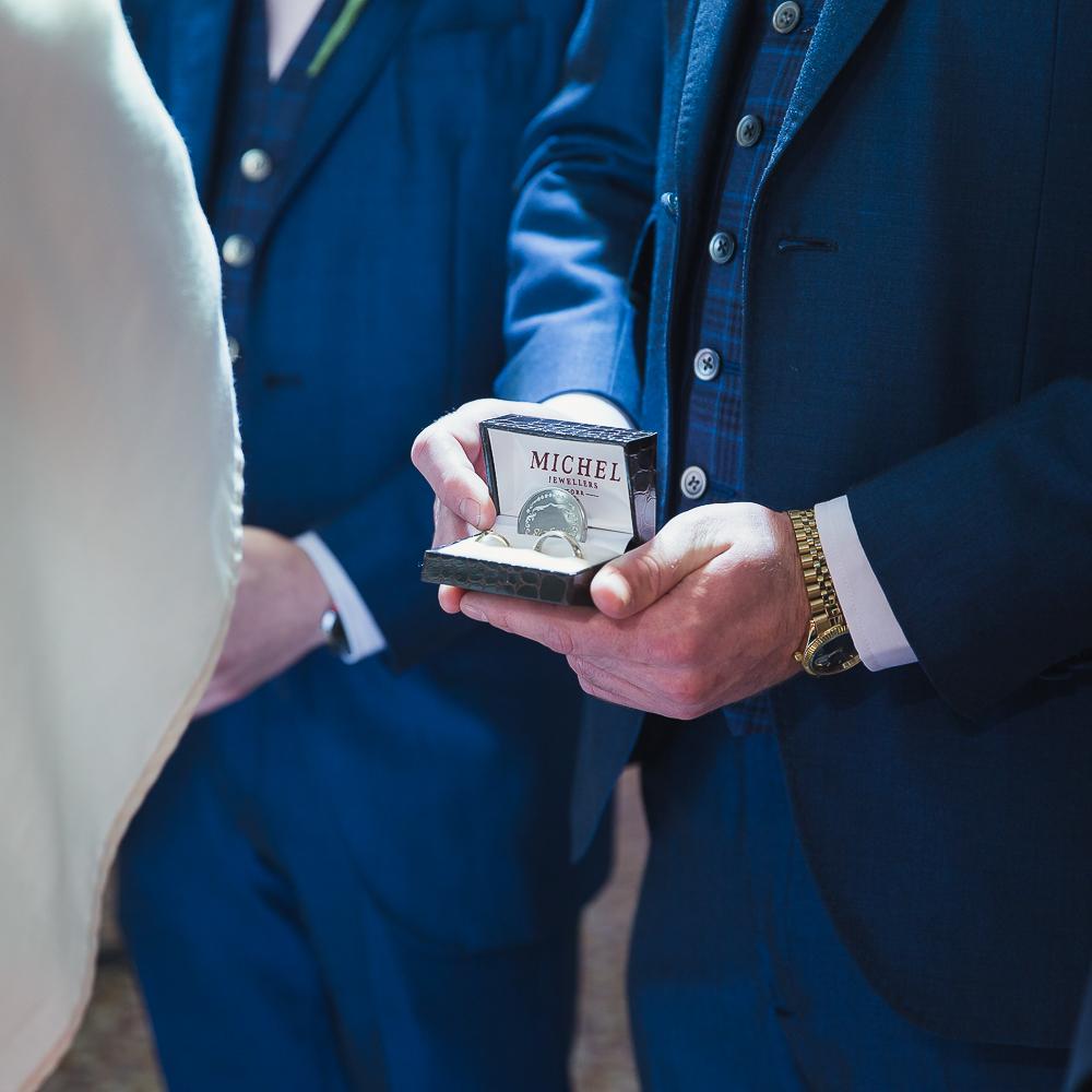 Weddings rings cork wedding