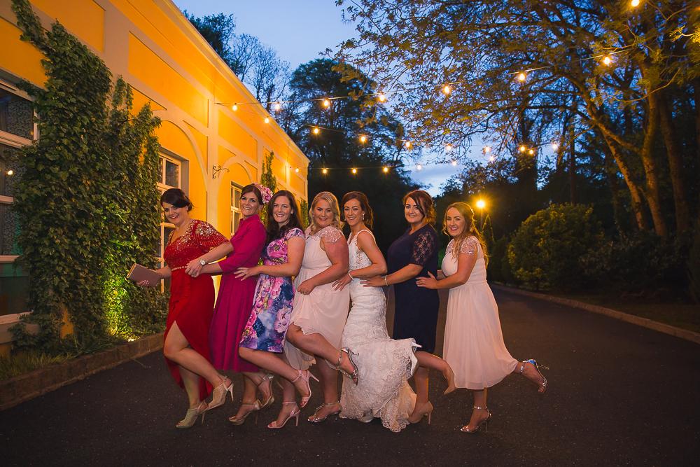 Vienna Woods Hotel Glanmire Co Cork. Seven Sisters family portrait