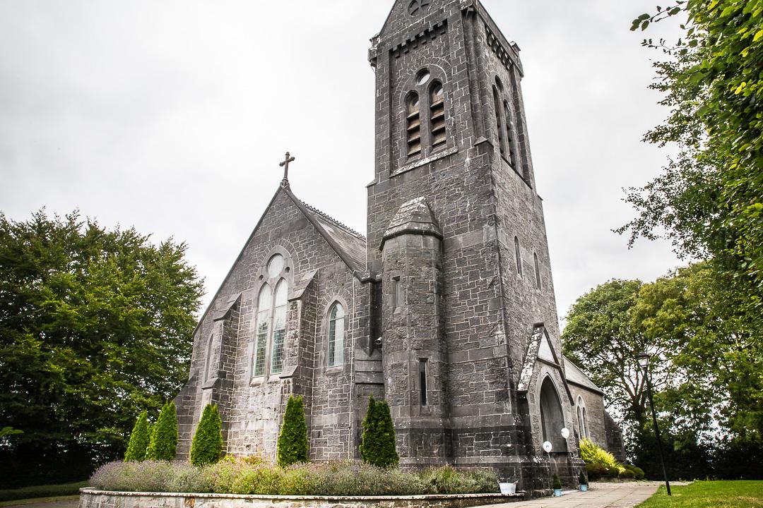Michelle & David Radisson Blu Hotel & Spa Limerick. Monaleen Church