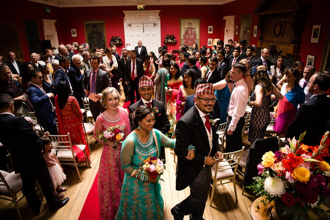 Michelle & David Monaleen Church Wedding
