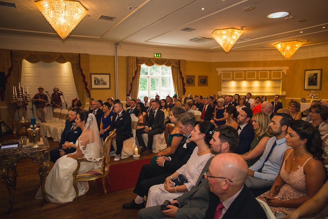 Michelle & David Radisson Blu Hotel & Spa Limerick. Groomsmen at church