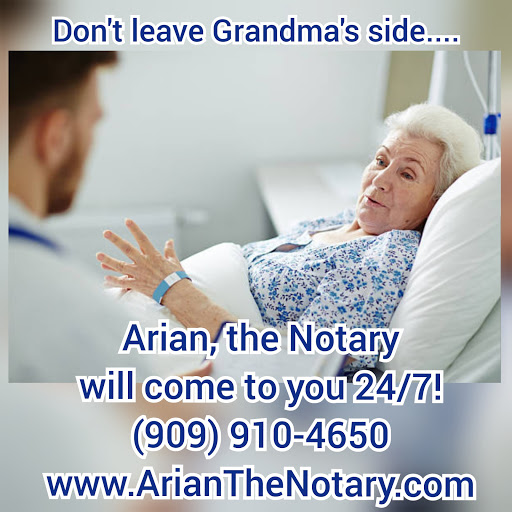 Arian, The Notar! 24/7 Pro Mobile Signing Services