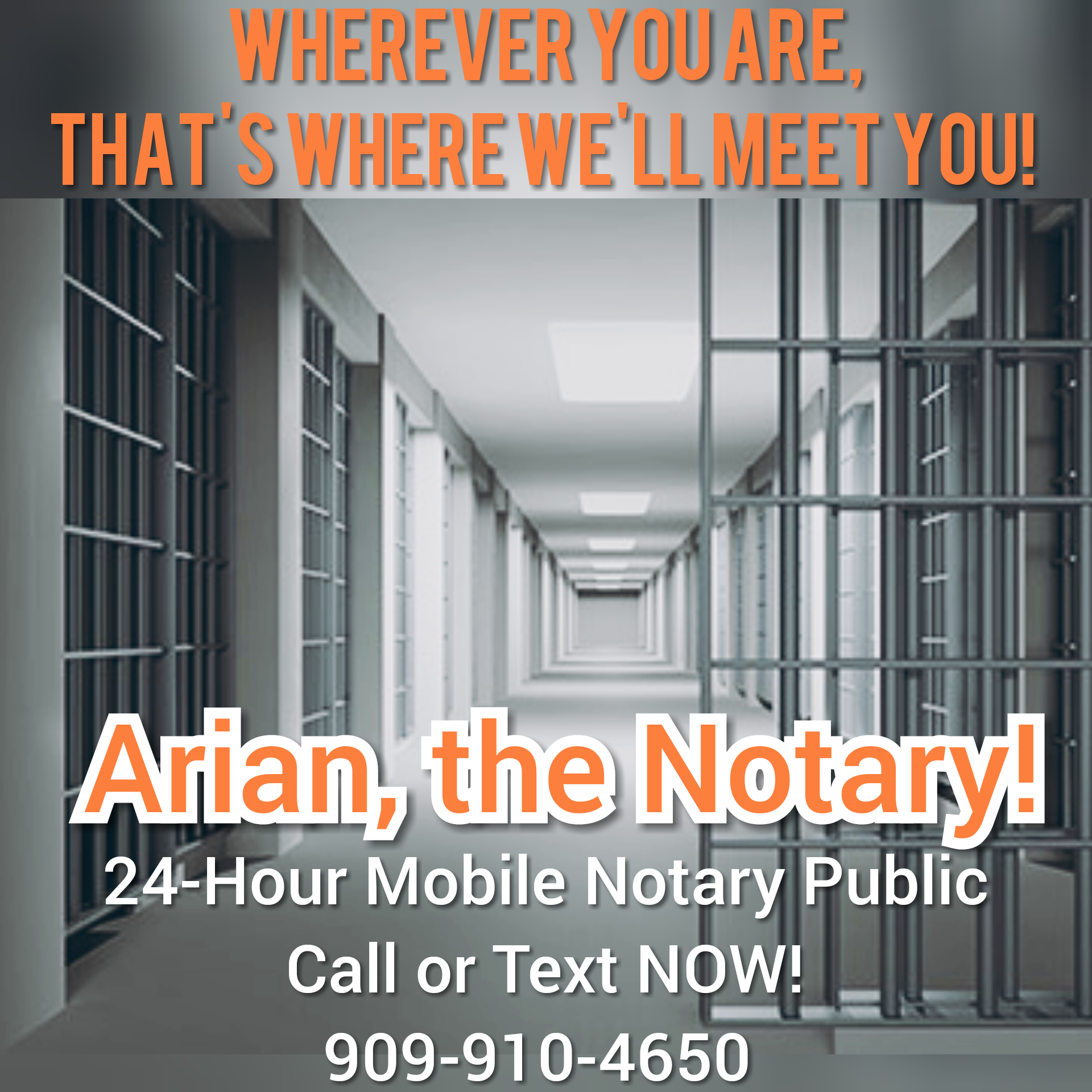 Arian, The Notary! 24/7 Pro Mobile Signing Services