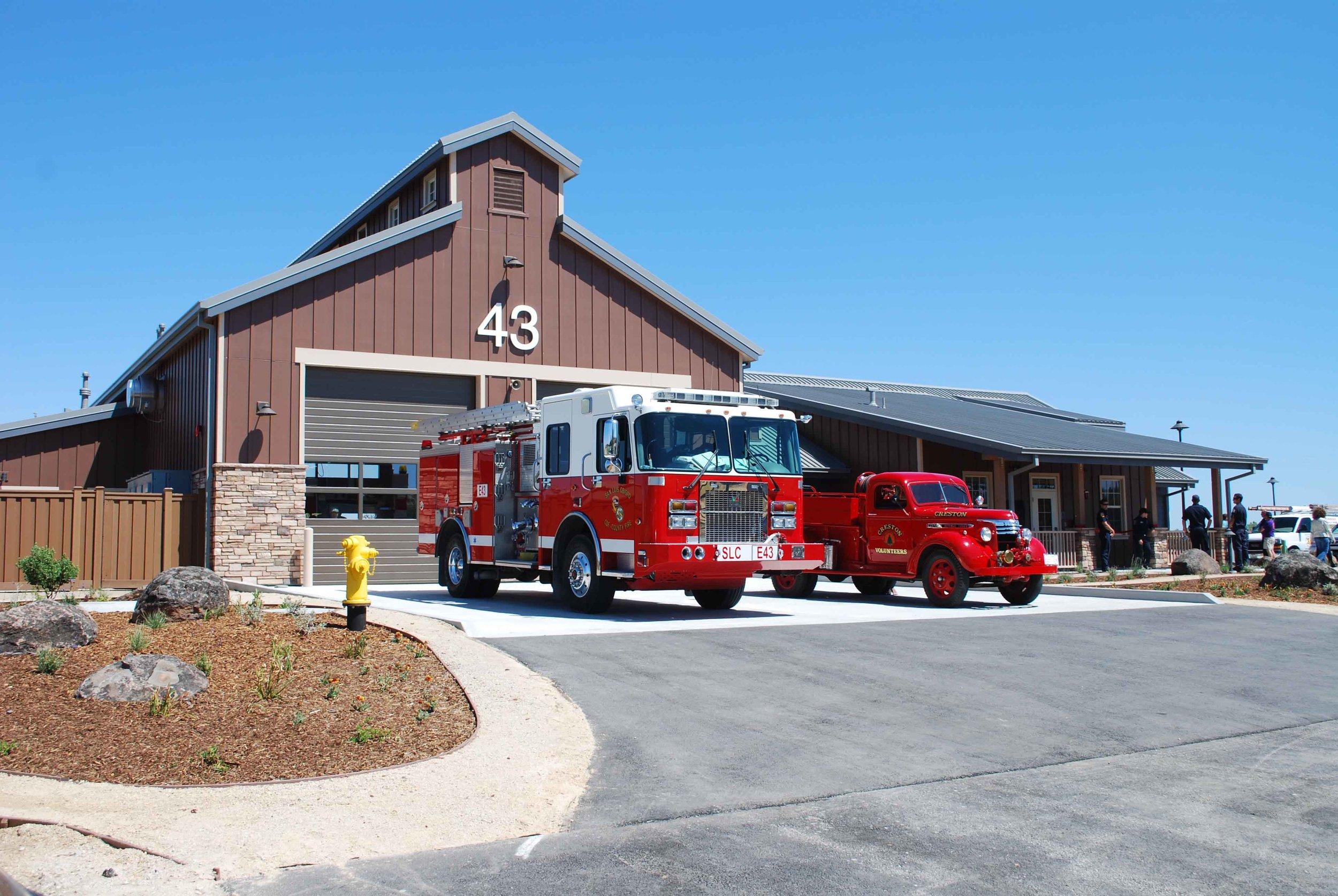 CRESTON FIRE STATION NO.43