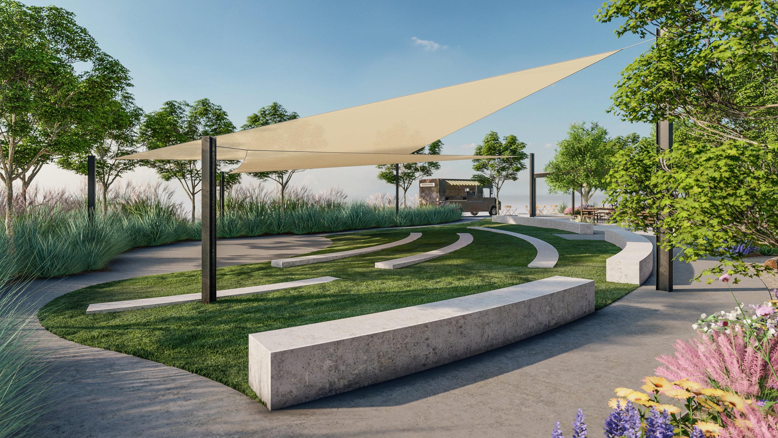 Tobin James Park Landscape Architecture