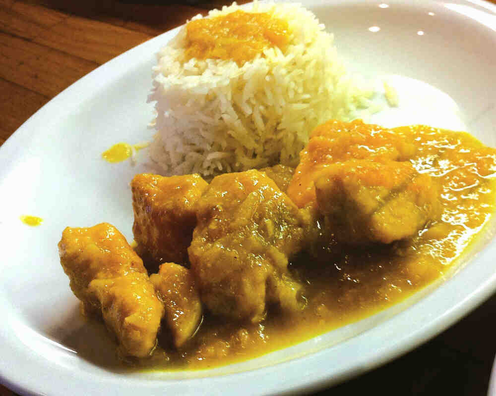 Pollo al Curry 8.00€