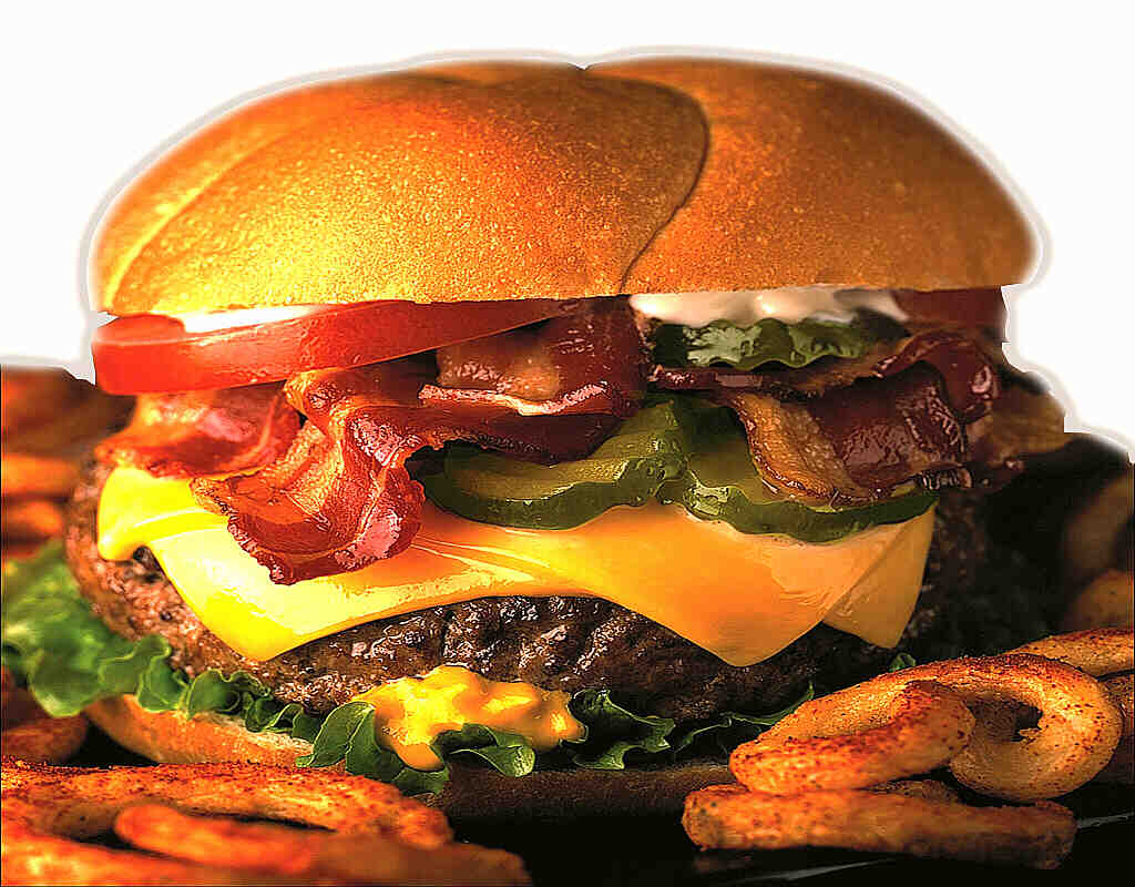 Bacon Cheese Burger 11.00€