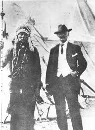 Quanah Parker (left) John Wilson (right)