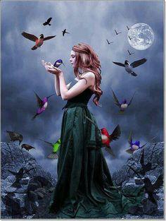 Rhiannon, Welsh Goddess of the Night