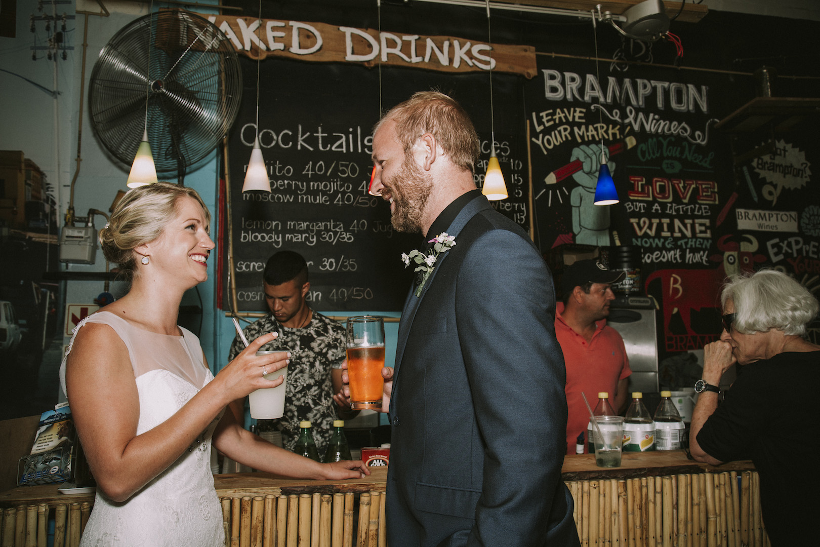 Unposed wedding photography - cape town