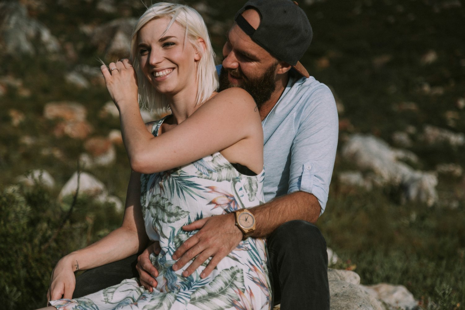 engagement photo shoot in cape town