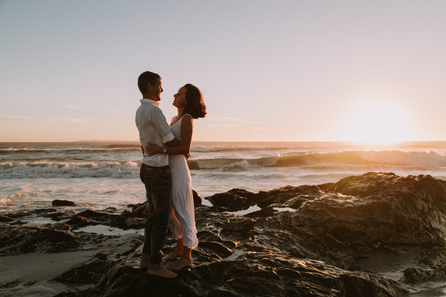 beach couples photo shoot in cape town