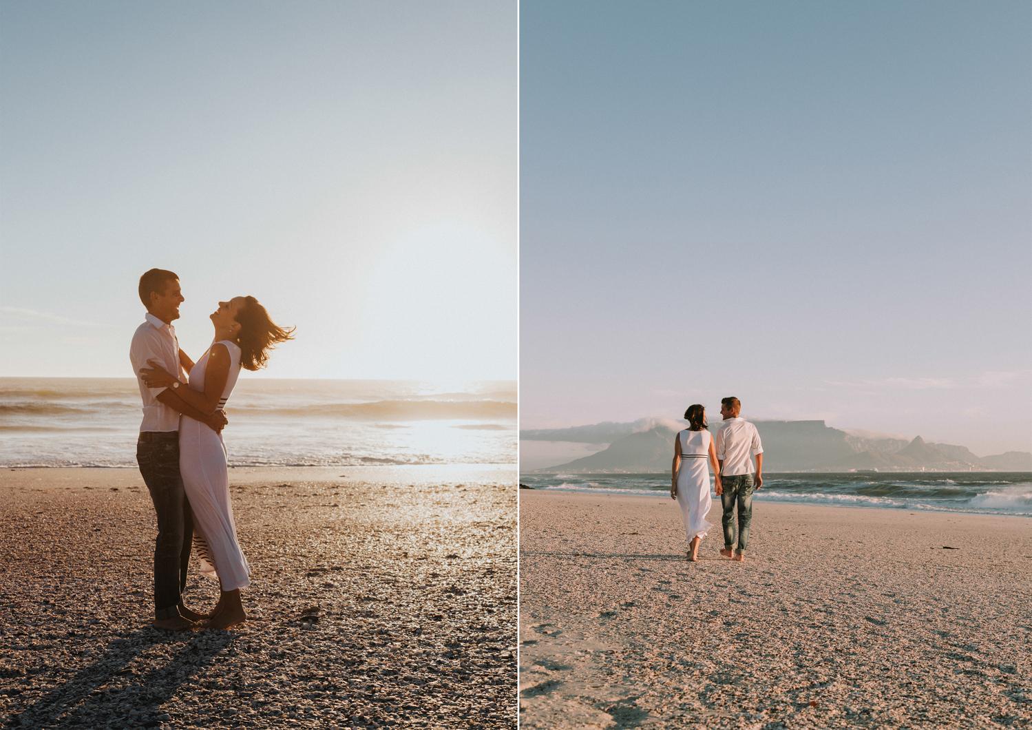 table mountain couples photo shoot