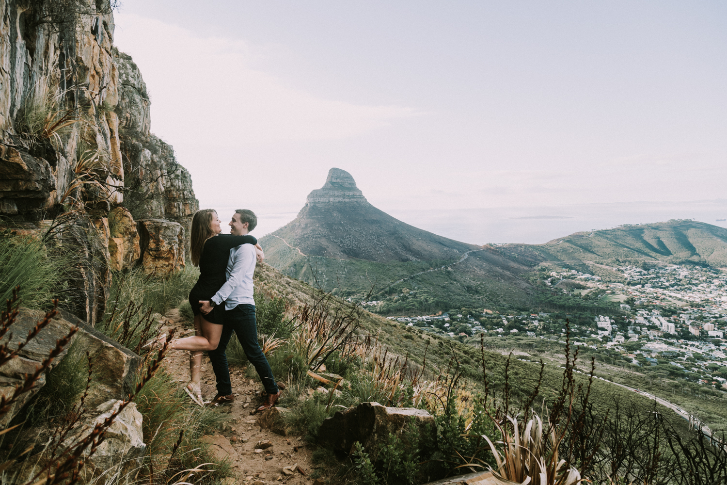 Table Mountain Hike Engagement Shoot - Bianca Asher Photography-6.jpg