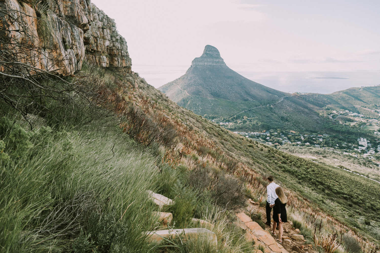 Table Mountain Hike Engagement Shoot - Bianca Asher Photography-9.jpg