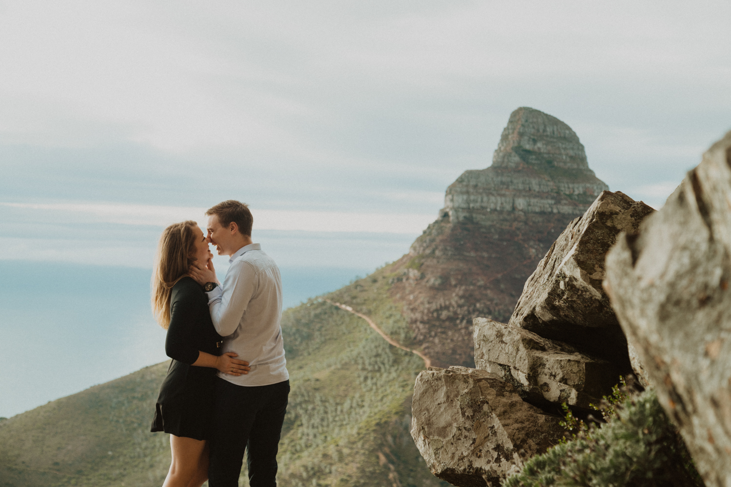 Table Mountain Hike Engagement Shoot - Bianca Asher Photography-16.jpg