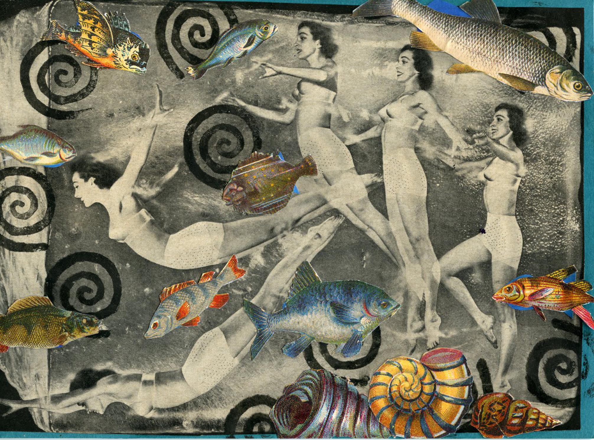 Vintage Swimmers