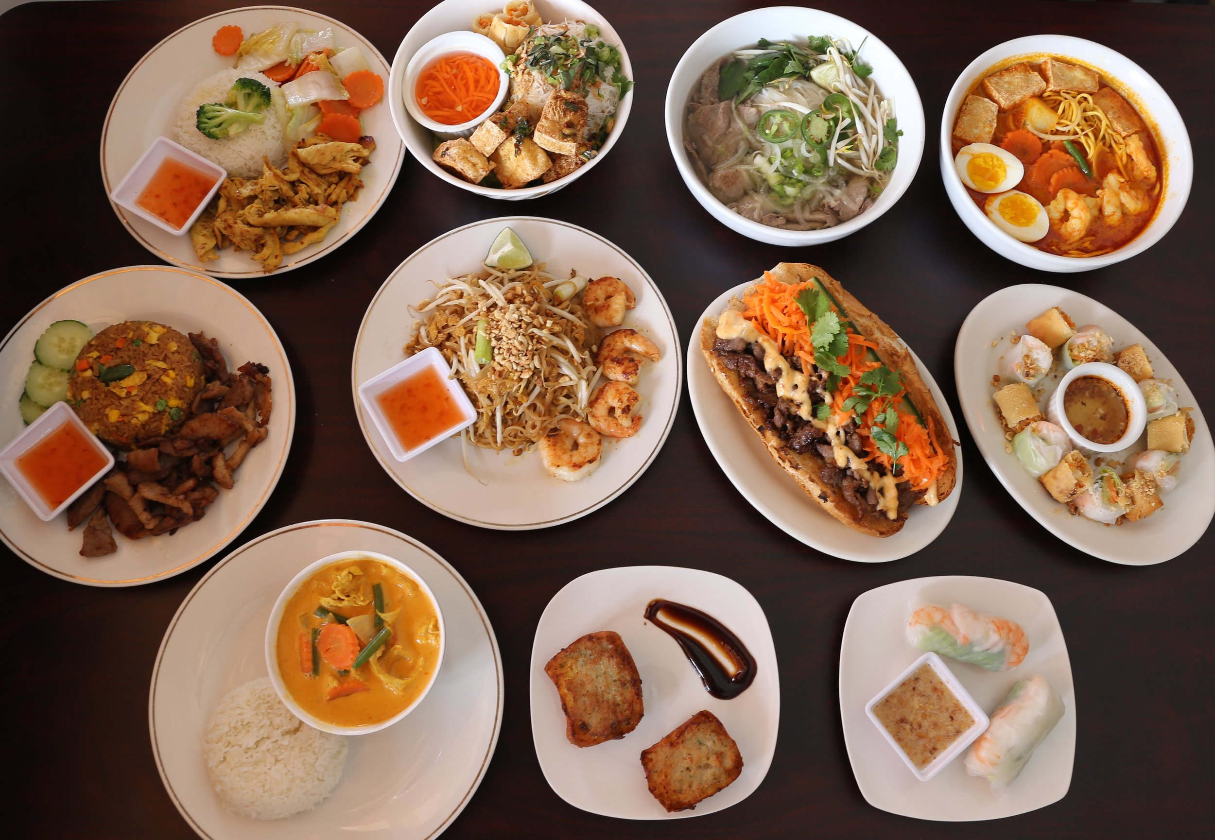 Flavors from Southeast Asia