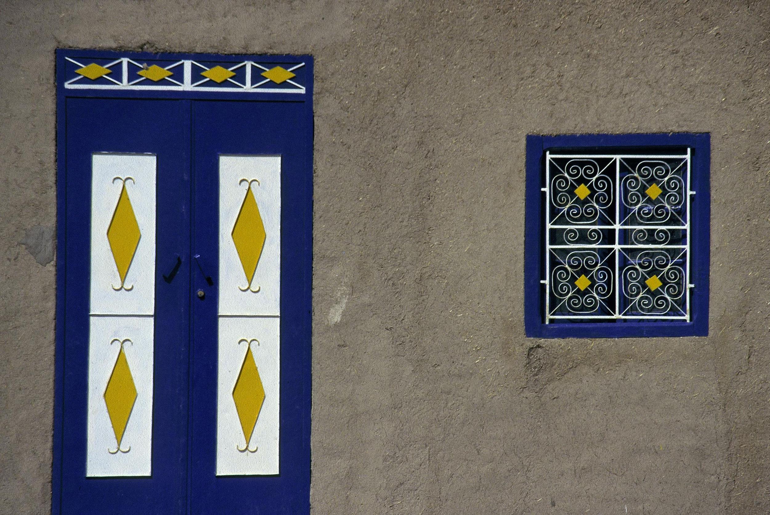 Sahara Blue  Merzouga, Morocco