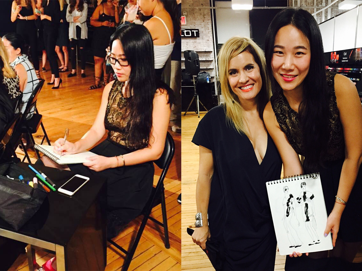 LULU x Cristina Ruales  Lulu collaborated with Cristina Ruales at New York Fashion Week at September 12th 2016.