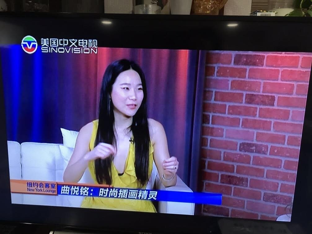 LULU x SinoVision Net  Lulu was solo interviewed by the biggest US-based Chinese TV Station SinoVision Net at September 2018.