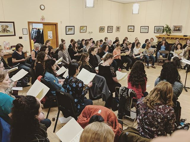 Tonight! Over 70 women get together to share songs and beautiful music with you this St. Patrick's Day! Please join us (info in the last post) if you're used to just hearing Ariose, adding these beautiful singers is making for one powerhouse concert! We are so excited!. . . . #Yeg #yegchoir #yegchoirs #ariose #choir #yegmusic #yegarts #ariosewomenschoir