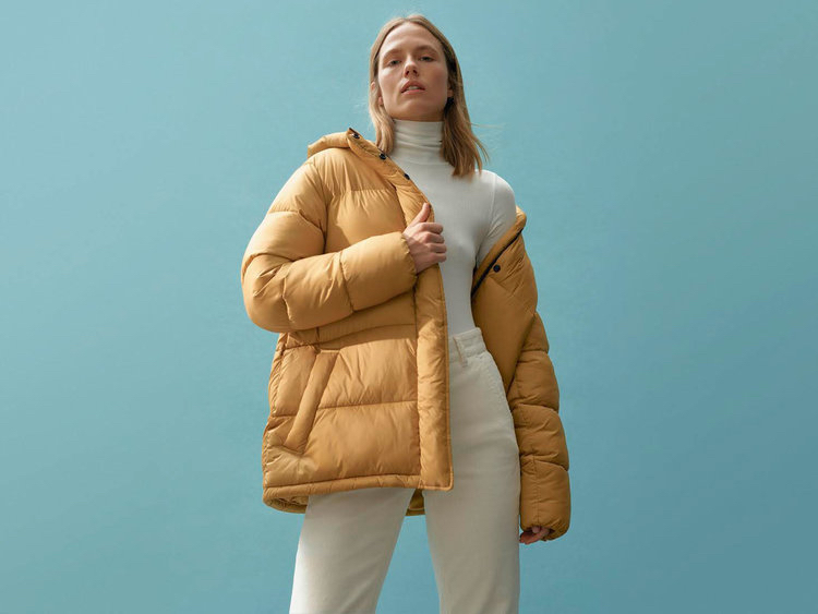 A piece from Everlane's ReNew collection. Photo via Everlane