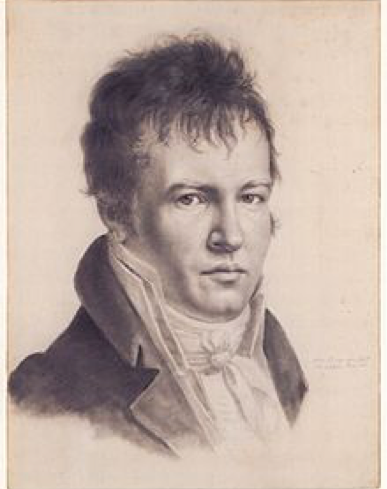 Image of Alexander von Humboldt via Wikipedia