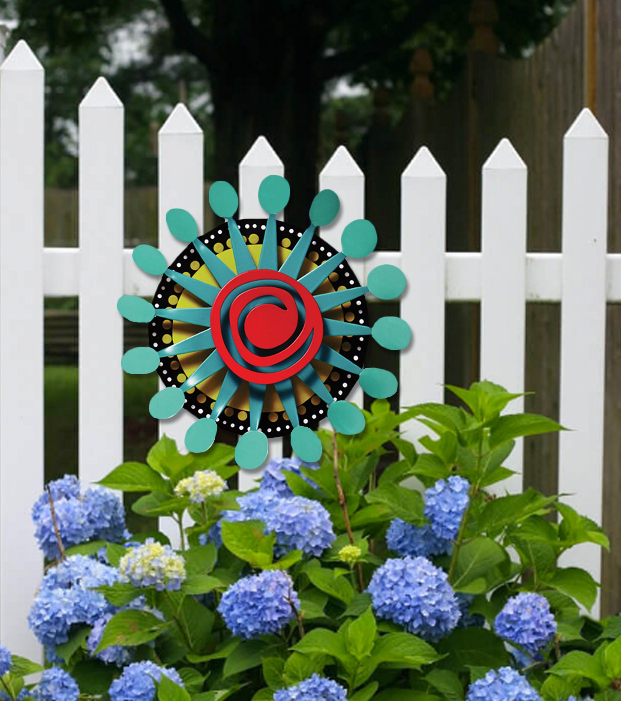 Kaleidoscope on fence.jpg