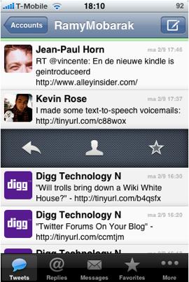 App design best practices Tweetie