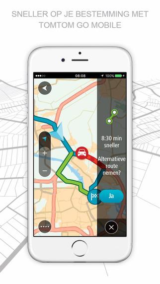 Beste offline navigatie app TomTom Go