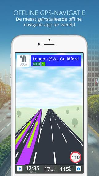 Beste offline navigatieapps Sygic GPS