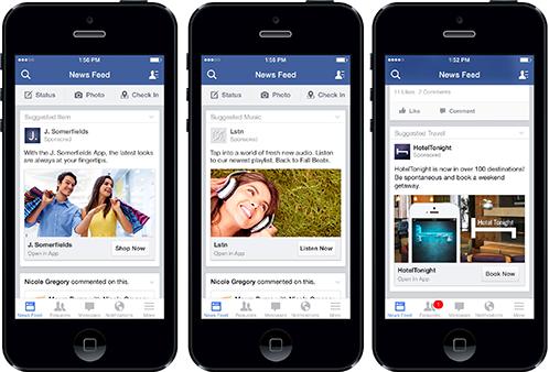 Facebook app design lessen