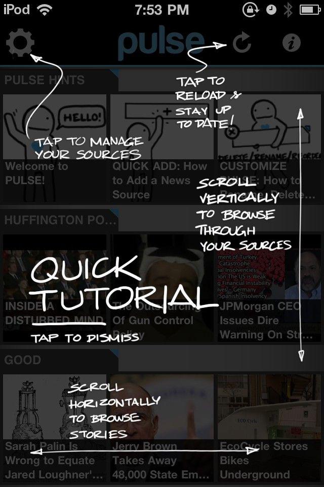 App introductie tips overlays