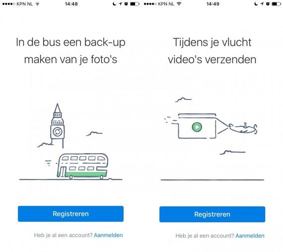 App introductie tips Dropbox