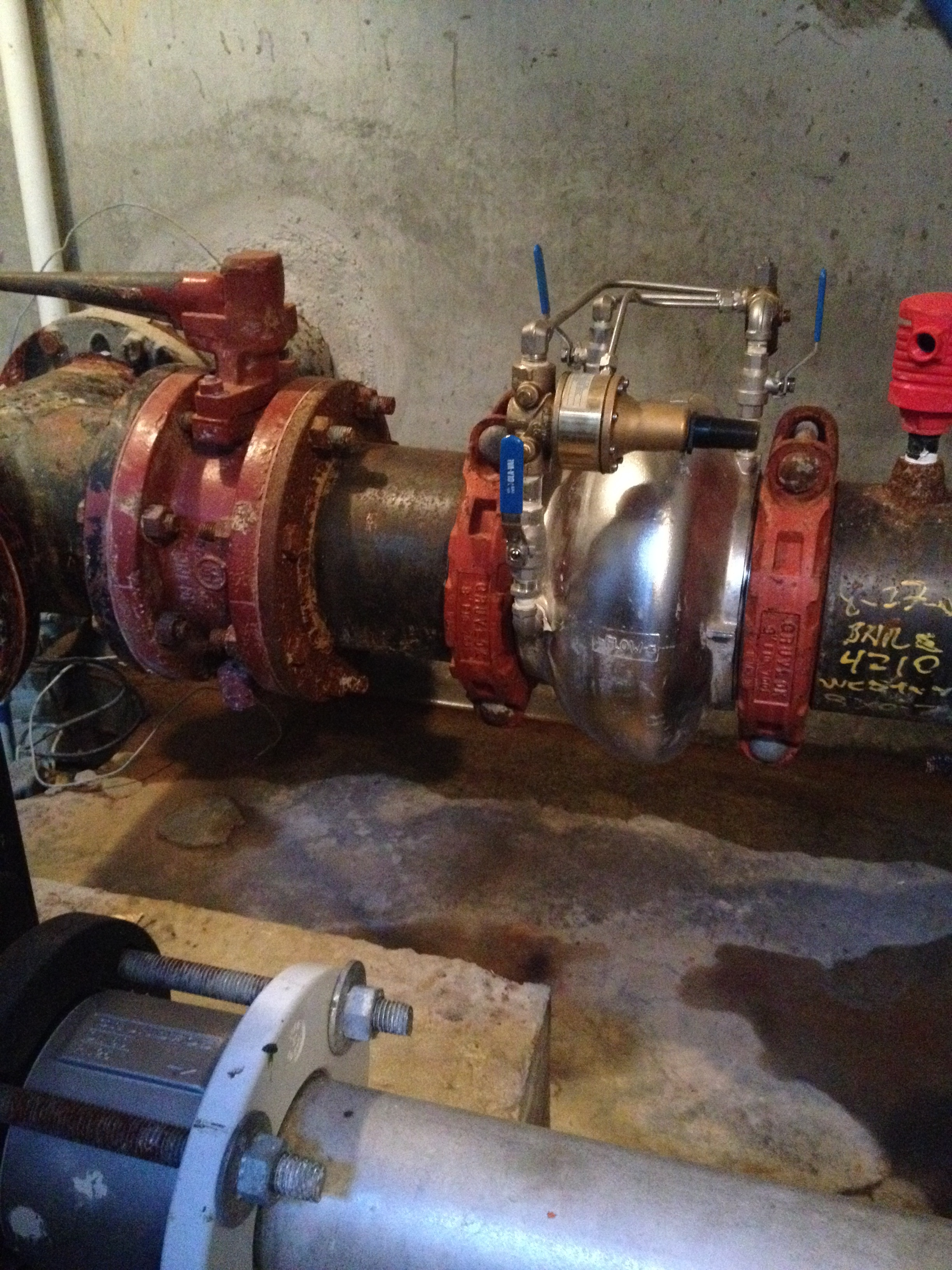 Booster     Station 1: - We serviced the PRV (Pressure Relief Valve) that has been out of service. The PRV controls or limits the pressure in our water system
