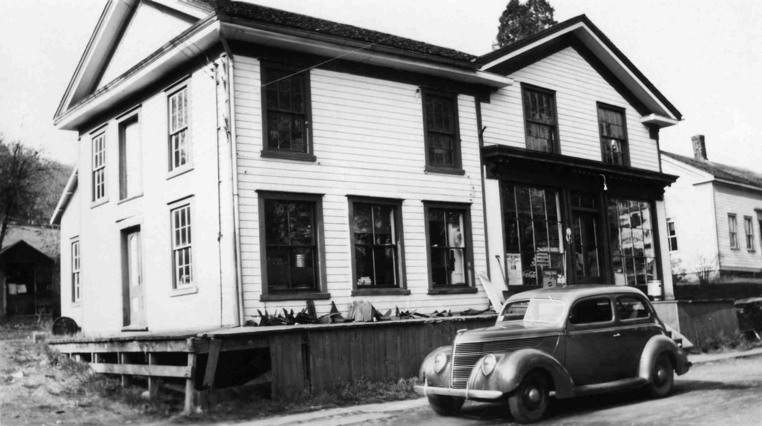 Hilson's Store, 1927
