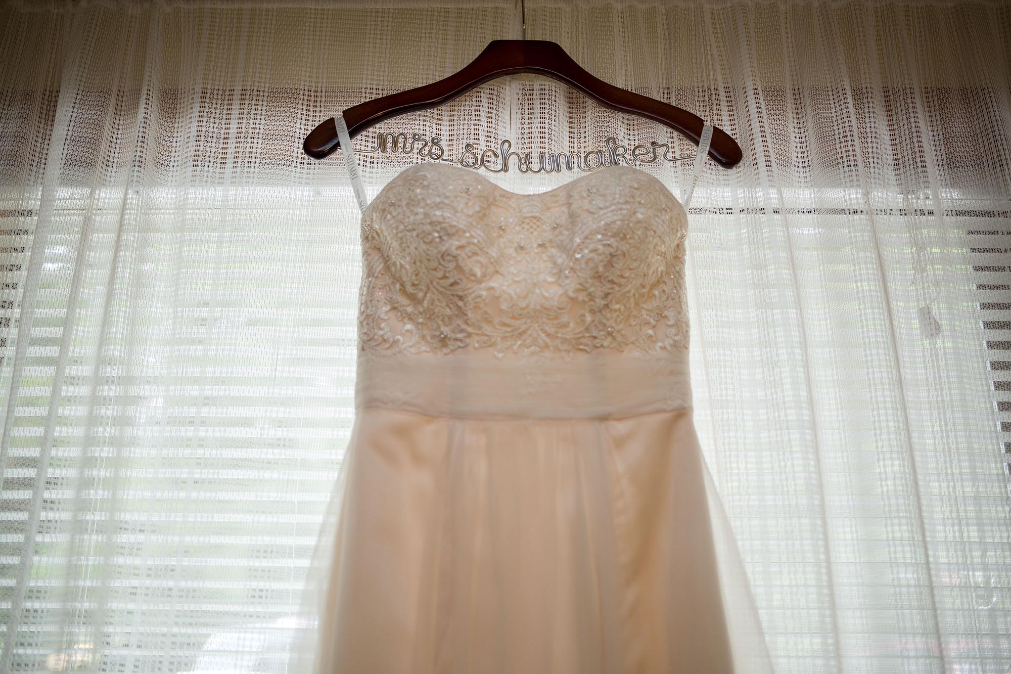 Cute personalized mrs-to-be bridal dress hangers never go out of style.