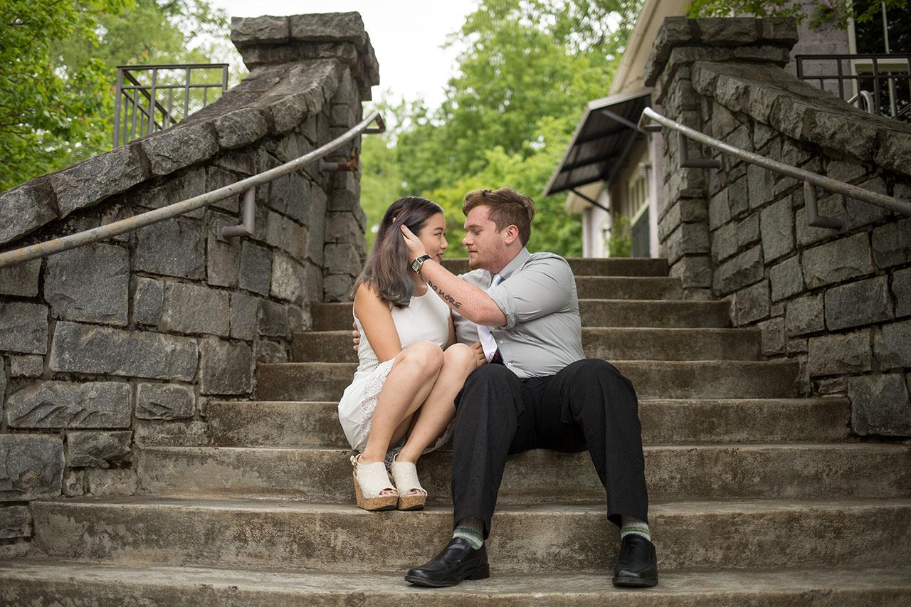 Atlanta wedding engagement photographers atlanta botanical garde