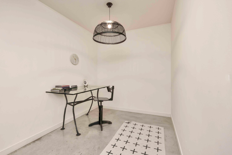 short term furnished rentals toronto downtown Fashion District den work desk