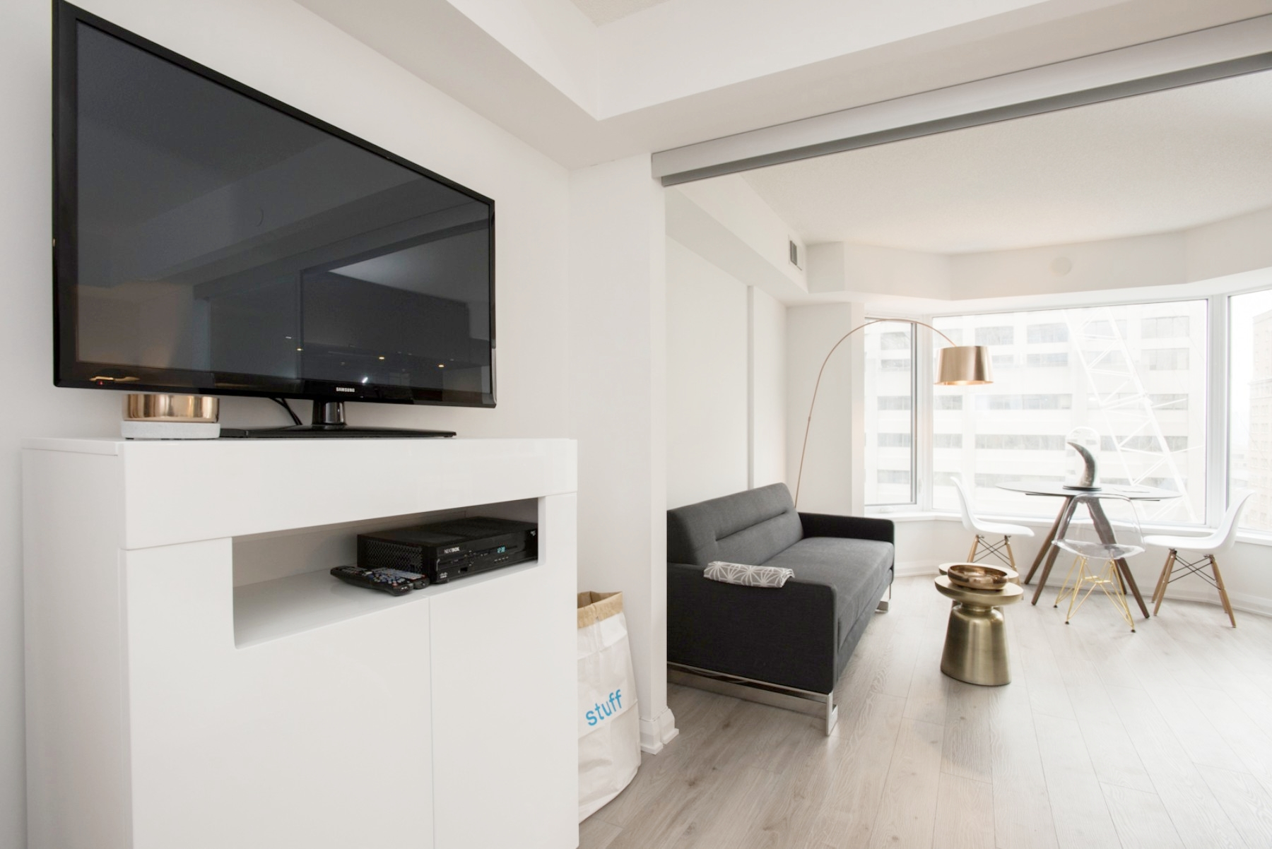 Furnished Yorkville Apartment - TV