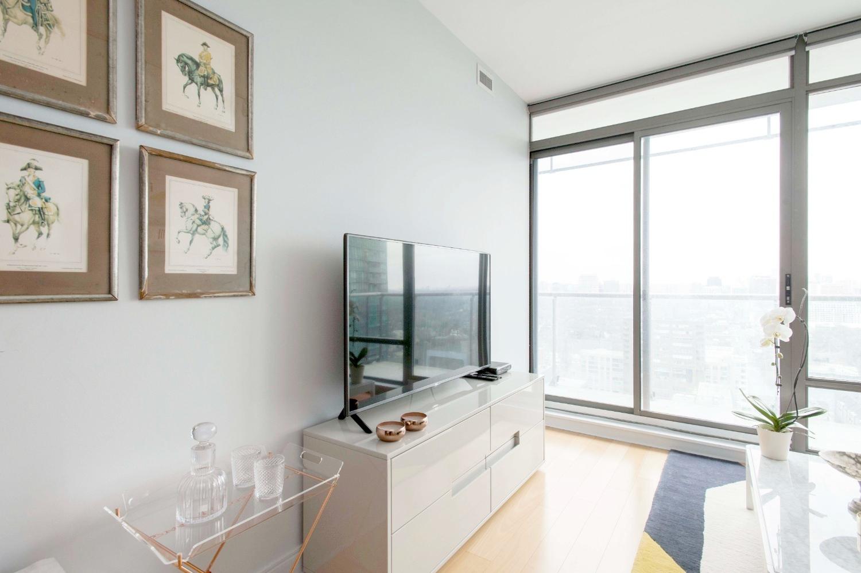 Stunning Yorkville Rental - Television