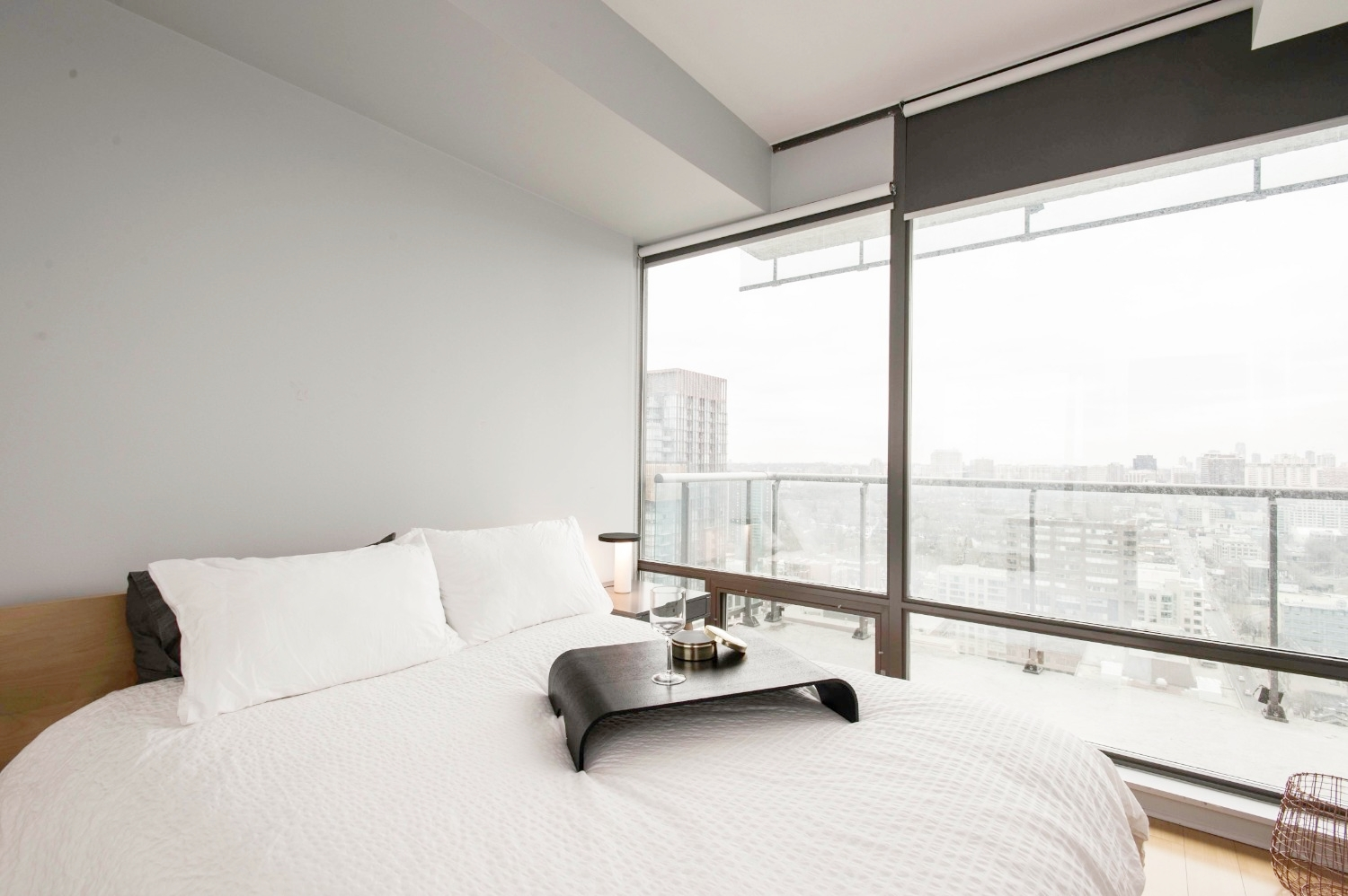 Stunning Yorkville Condo - Bedroom View