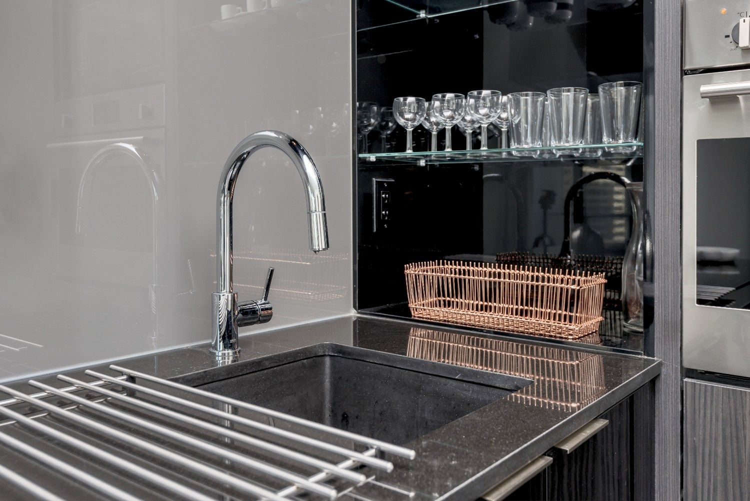 Luxury Downtown Furnished Condo - Kitchen Faucet