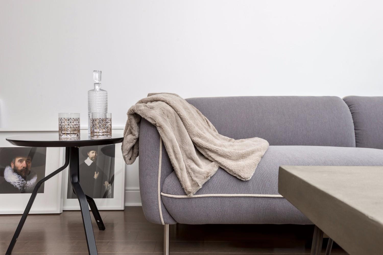 Yorkville Grand Condo - Sofa, Bottle
