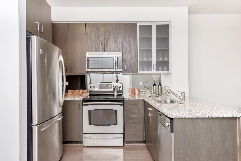 Yorkville Grand Condo - Kitchen, Granite Counters