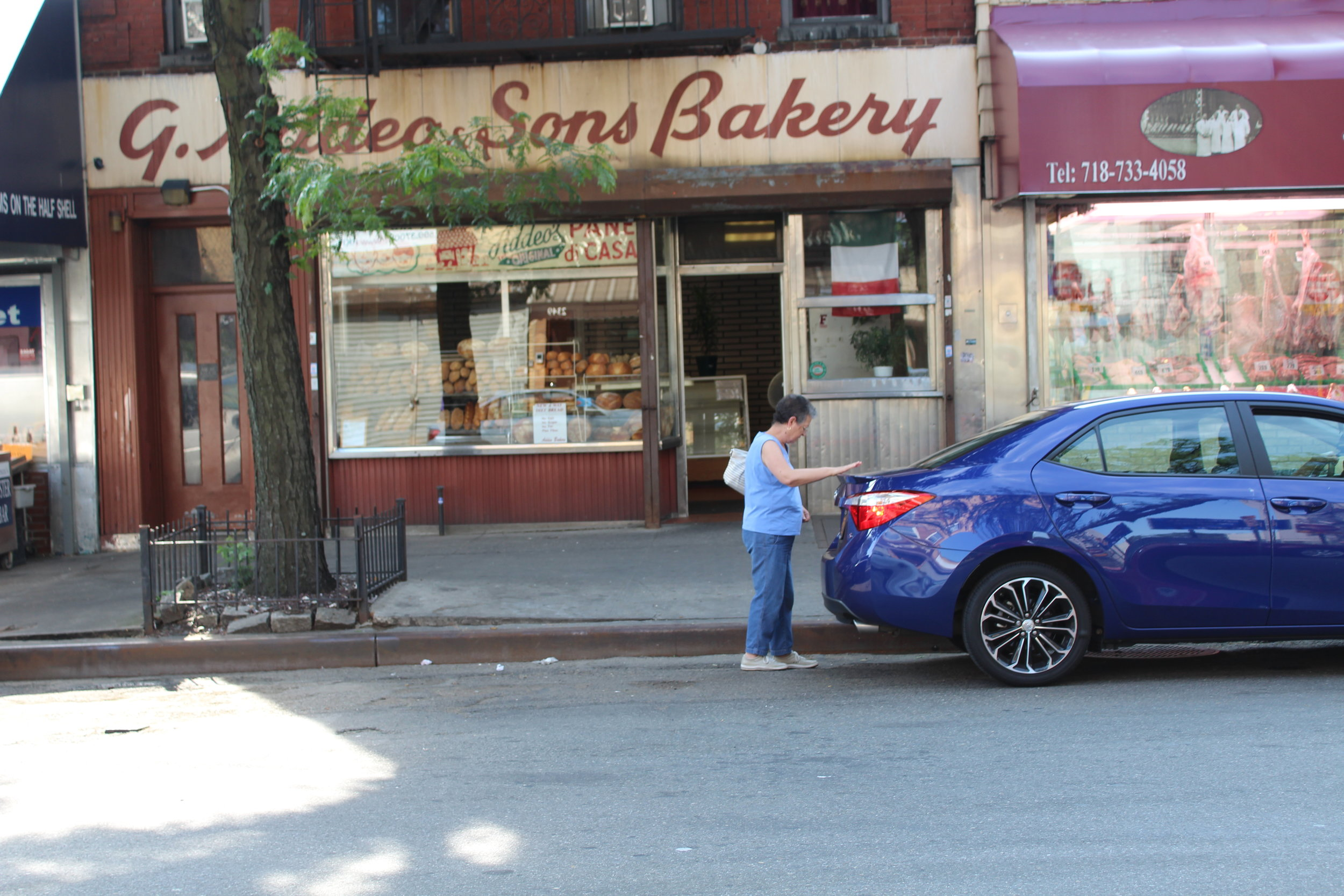 Addeo Bakers has a storefront on Arthur Avenue another on Hughes Avenue where the bread is also baked.