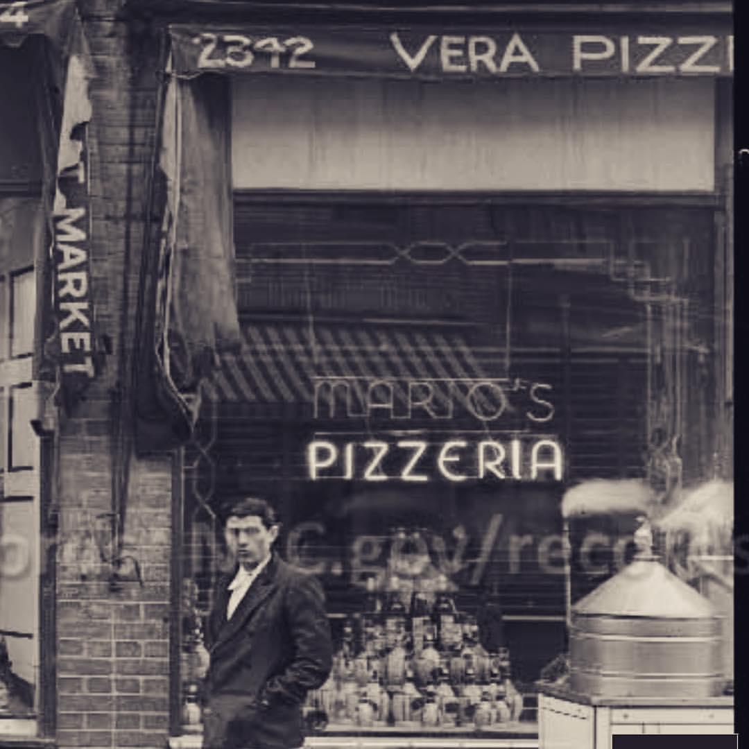 Mario's at 2342 Arthur Avenue in 1938.